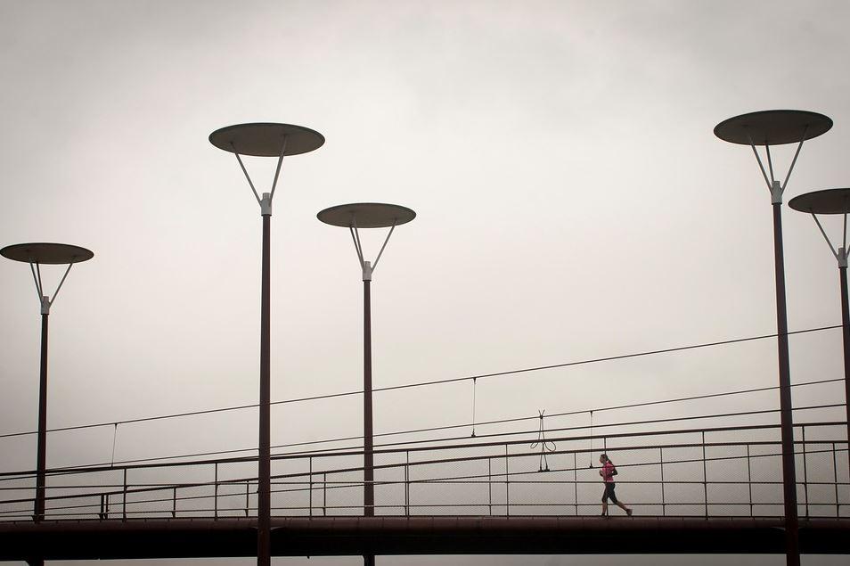 2.5 kilometer binnen 8 minuten lopen